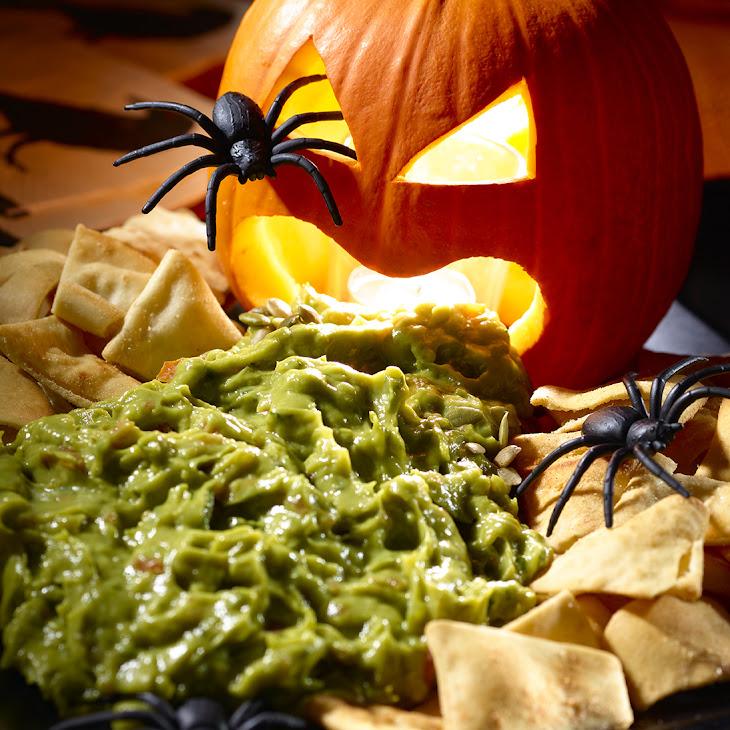 Ghoulish Guacamole Recipe