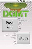 Screenshot of Drop and Give Me Twenty! DGMT!