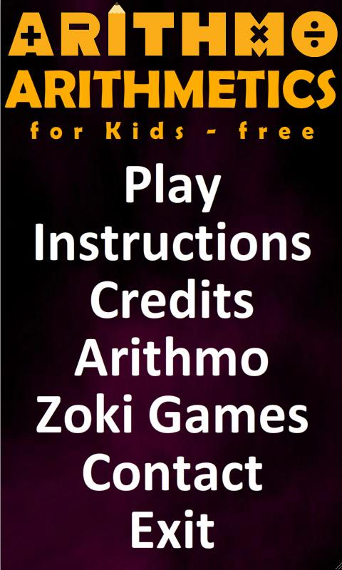 Arithmetics for Kids Free - screenshot