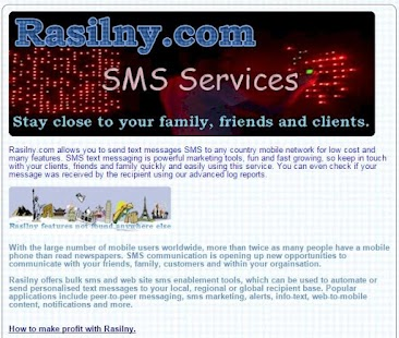 Rasilny SMS- screenshot thumbnail