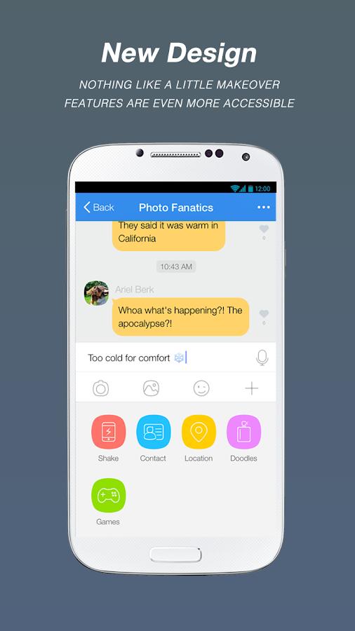 QUAD - The fresh way to chat - screenshot