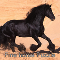 war horse puzzle icon