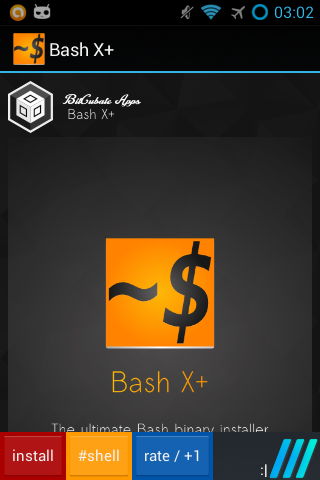 Bash Shell X+