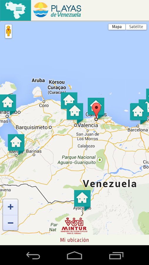 Playas de Venezuela- screenshot