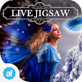 Live Jigsaws - Frost Fairies