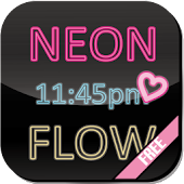 [Free] Neon Flow! Live Wall