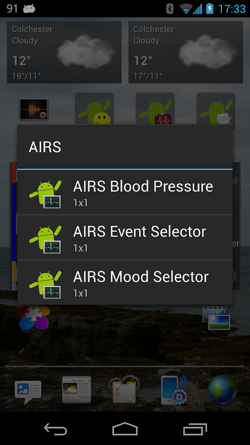 AIRS - Record your life - screenshot