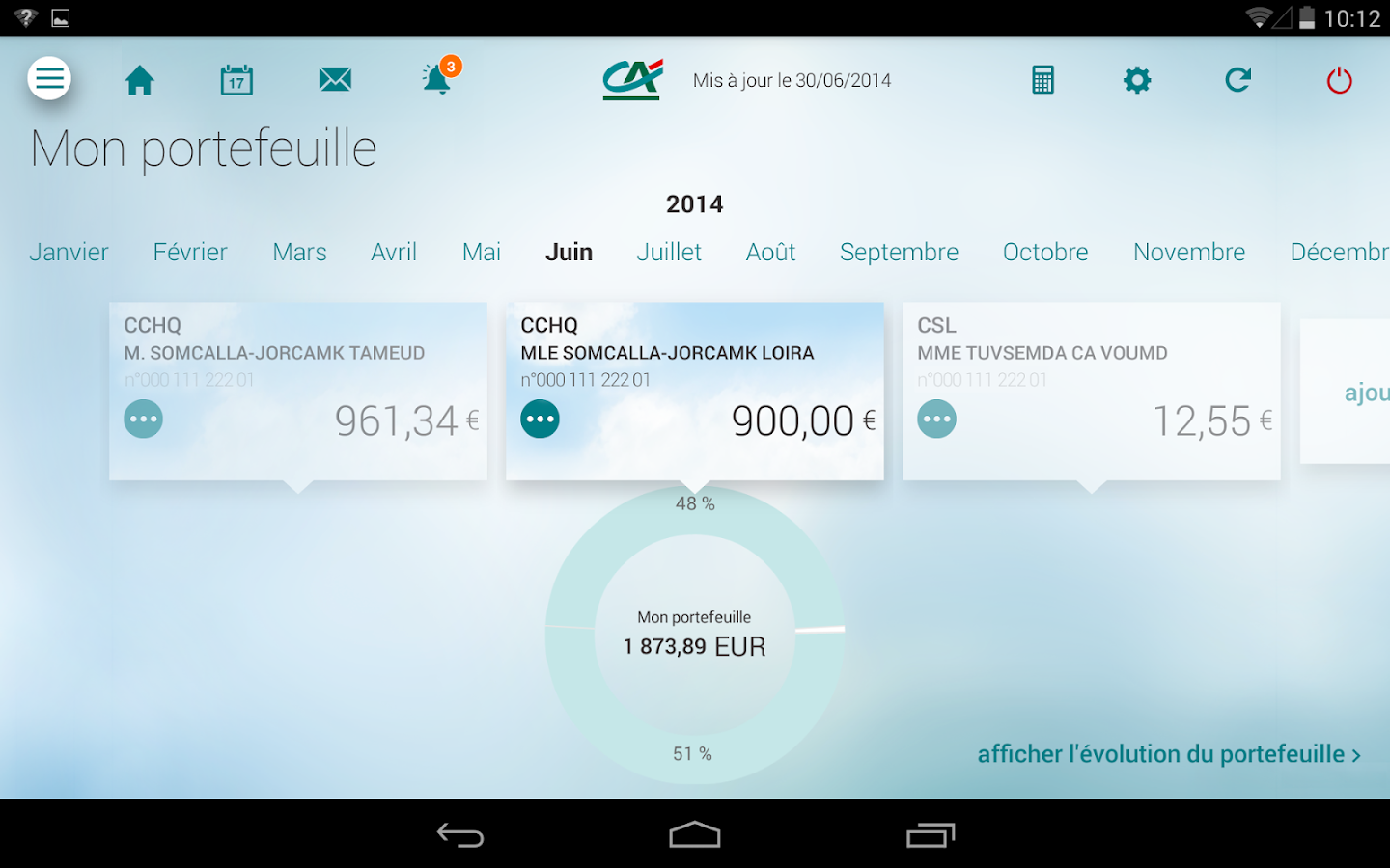 Ma banque applications android sur google play - Plafond carte maestro credit agricole ...