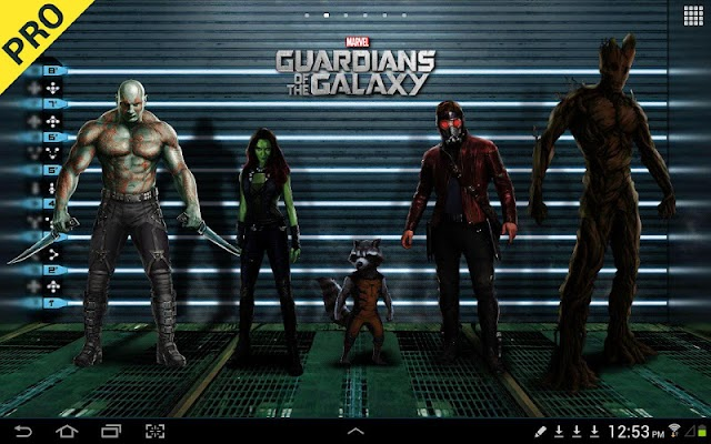 Guardians of the Galaxy LWP - screenshot
