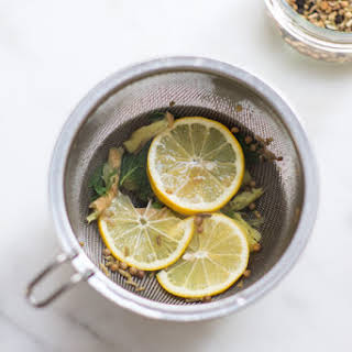 Detoxifying Mint Tea.