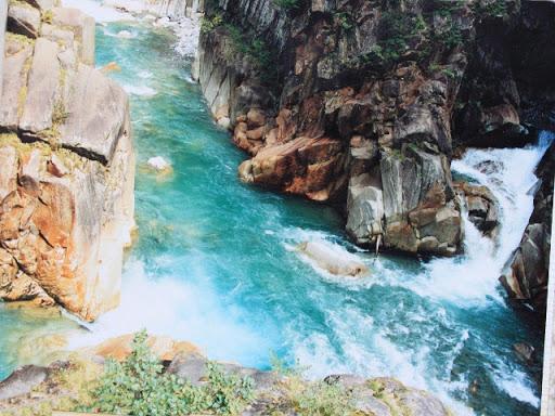 黒部峡谷付猿飛ならびに奥鐘山