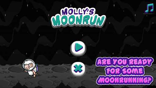 Molly Moon Run Game