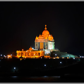 Vivekananda Rock by Manabendra Ghosh - Buildings & Architecture Statues & Monuments