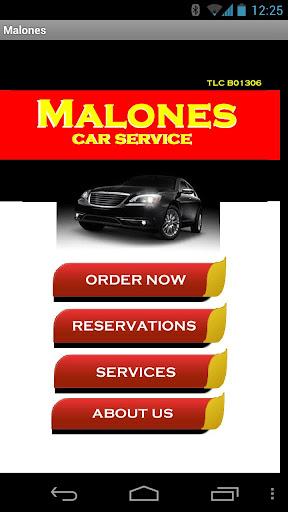 Malones Car Service