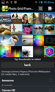 Photo Grid/Frame Widget - screenshot thumbnail