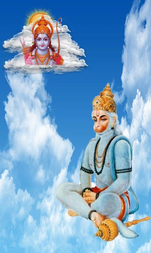 Hanuman at Sky Live Wall