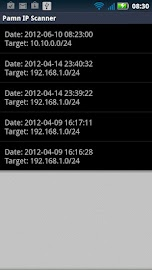 Pamn IP Scanner Screenshot 4