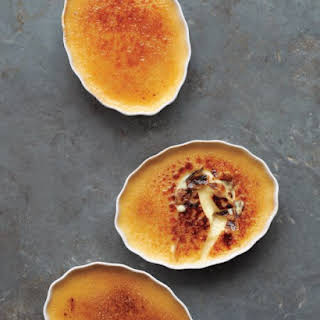 Cinnamon-Honey Creme Brulee.