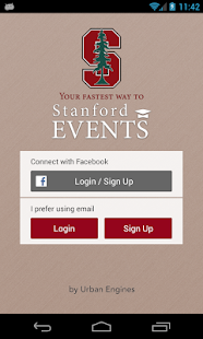 Stanford Events - screenshot thumbnail