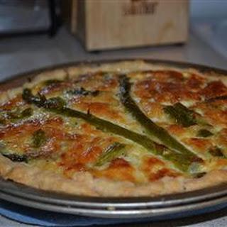 Asparagus Quiche.