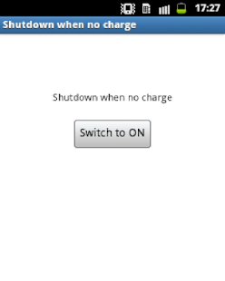 Auto ShutDown when no charge- screenshot thumbnail
