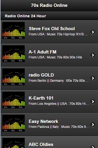 【免費音樂App】70s radio Online-APP點子