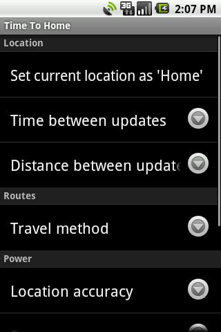 Time to Home- screenshot