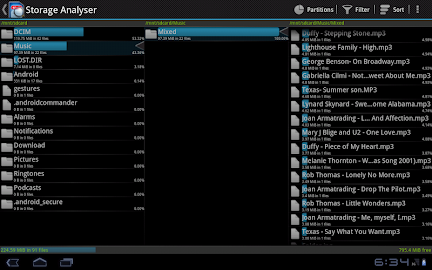 Storage Analyser Screenshot 1