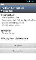 Screenshot of Vertretungsplan FLS