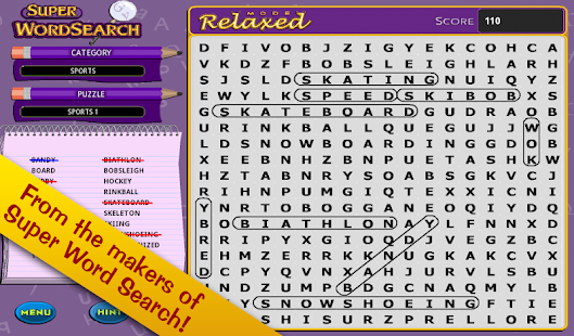Super Word Search!- screenshot thumbnail