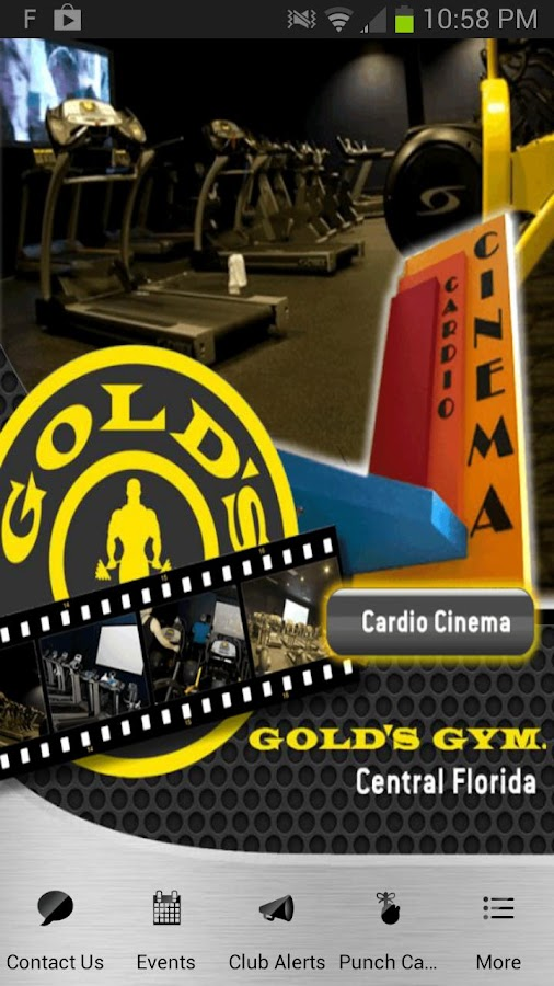 Gold's Gym Central FL - screenshot