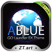 ABLUE GO Getjar Theme