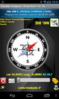 Screenshot of Brújula Traveler Compass Lite