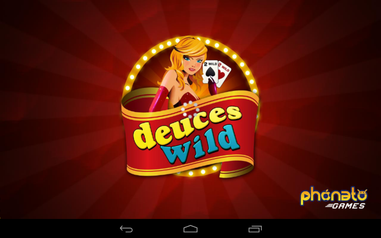 deuces wild video poker online free