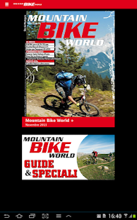 MOUNTAIN BIKE WORLD screenshot