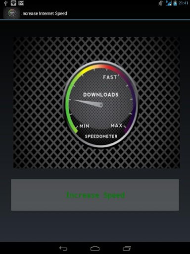 【免費工具App】Increase My Internet Speed-APP點子
