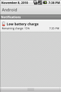 Battery Notifier - screenshot thumbnail