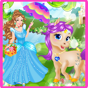 Princess And Her Magic Unicorn for PC and MAC