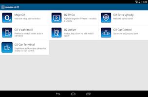 Screenshot of Aplikace od O2