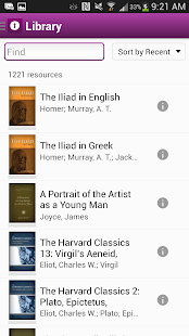 Noet Classics Research App- screenshot thumbnail