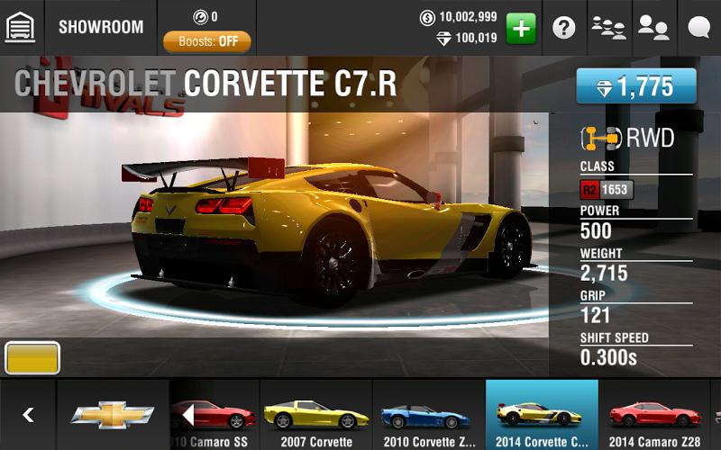 Racing Rivals Mod Apk v3.3.2