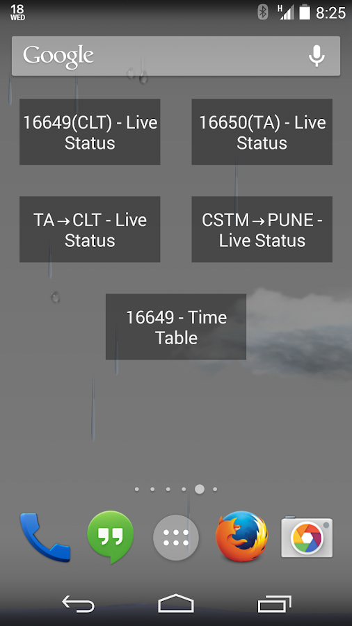 Indian Train Status - screenshot