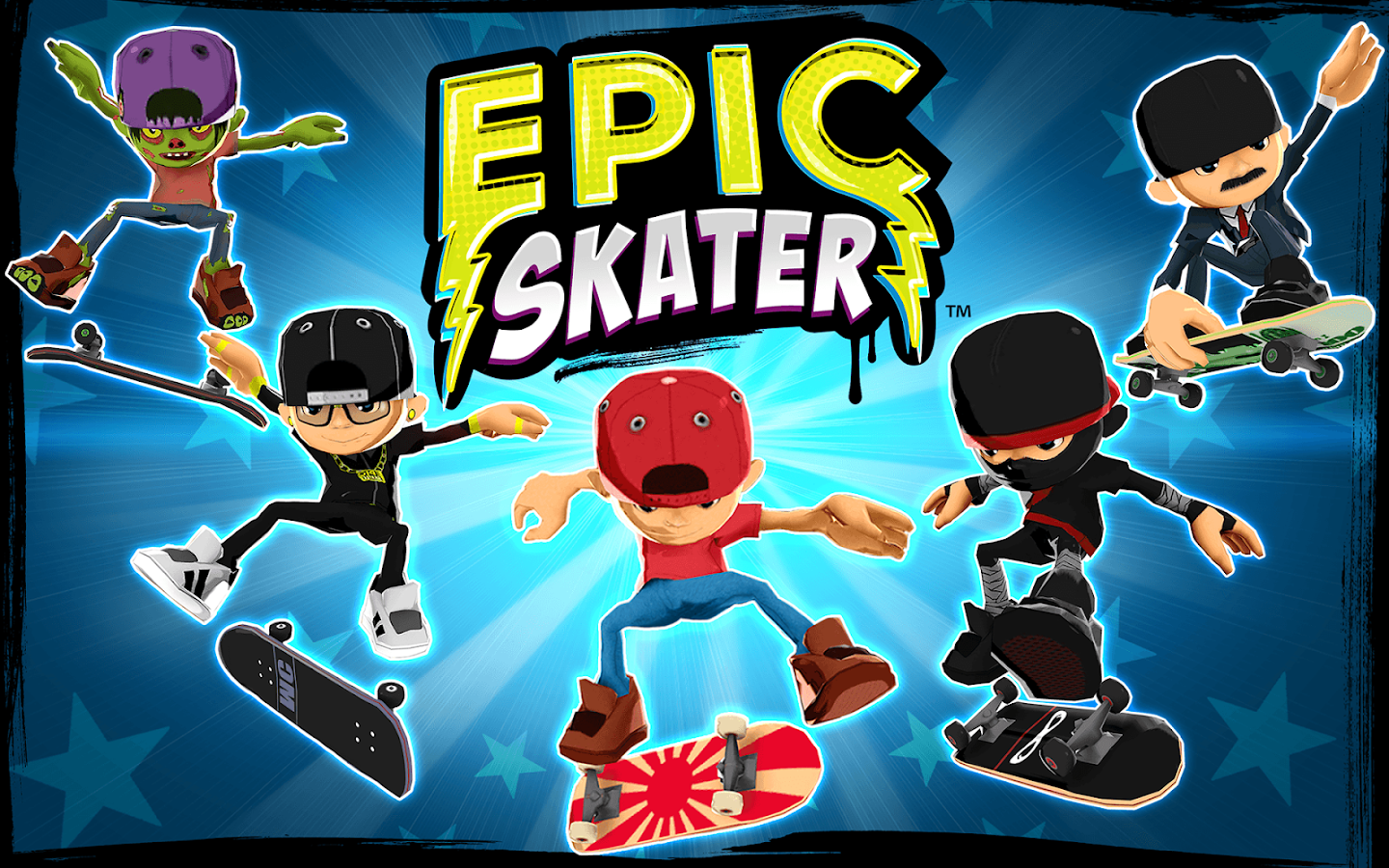 Epic Skater- screenshot