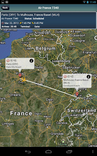 Euro Airport + Flight Tracker