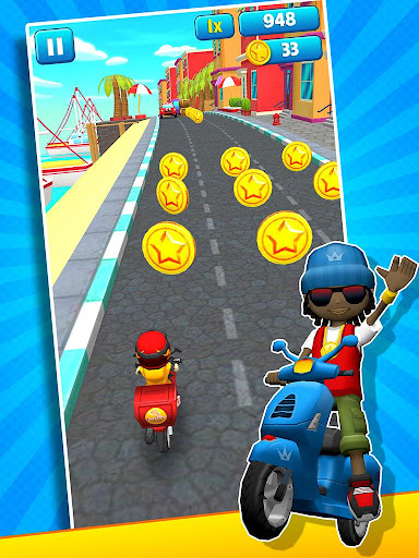 Subway Scooters Free -Run Race 4.1.6 screenshots 16