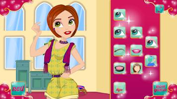 Screenshot of British Fashionista Makeover