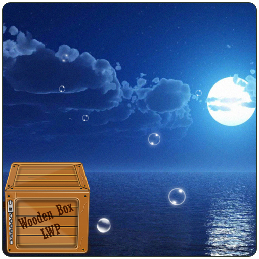 夜ムーンビーチ LWP 個人化 App LOGO-APP開箱王