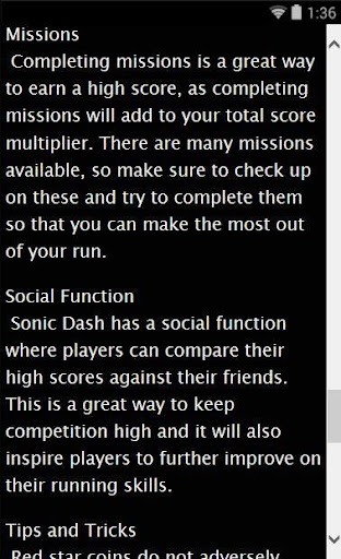 Sonic D Guide and Walkthrough