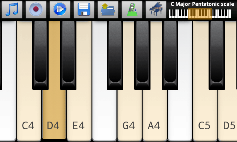 Piano Scales & Jam Free - screenshot