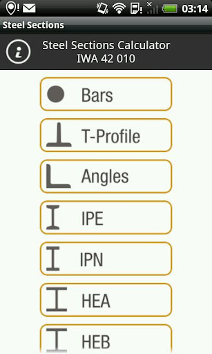 Steel Sections Calculator